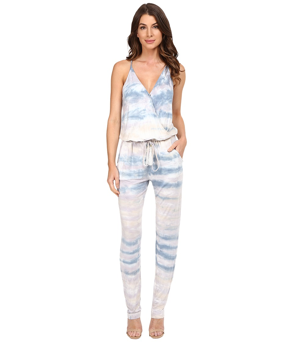 Young Fabulous & Broke - Chrissy Jumpsuit (Chambray Water Ripple Wash) Women's Jumpsuit & Rompers One Piece