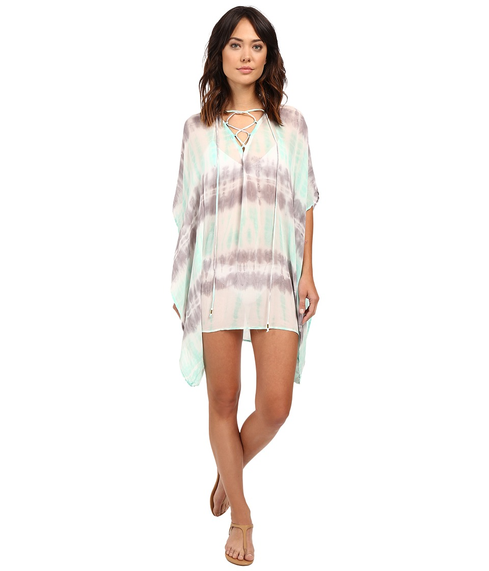 Young Fabulous & Broke - Aquatic Cover-Up (Seafoam Bamboo Wash) Women's Dress