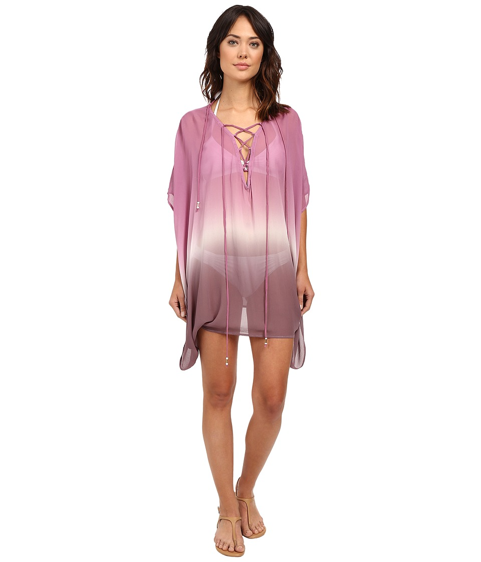 Young Fabulous & Broke - Aquatic Cover-Up (Wine Ombre) Women's Dress
