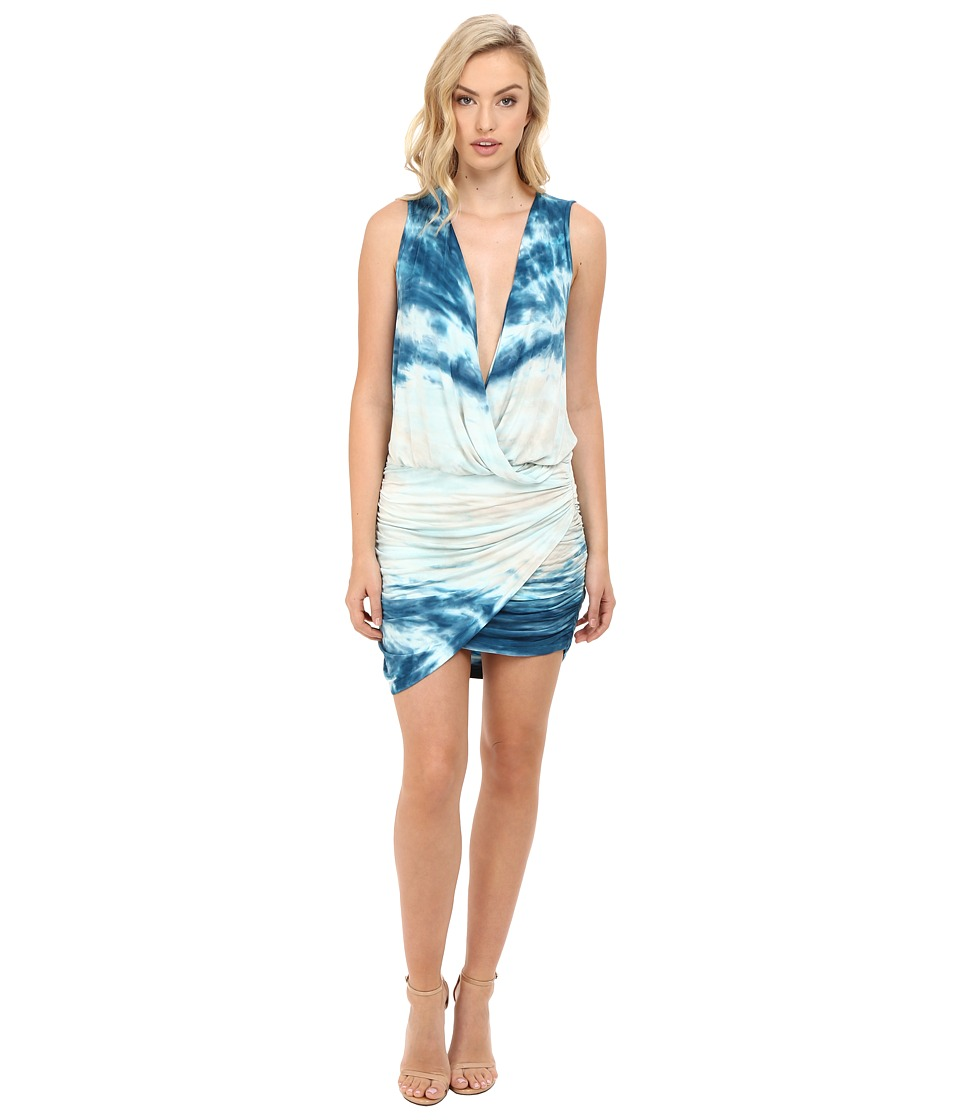 Young Fabulous & Broke Stacey Dress (Pacific Blue Water Ripple) Women