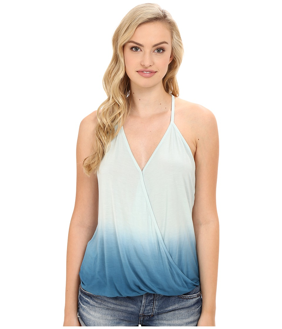 Young Fabulous & Broke - Sela Top (Pacific Blue Ombre) Women's Clothing