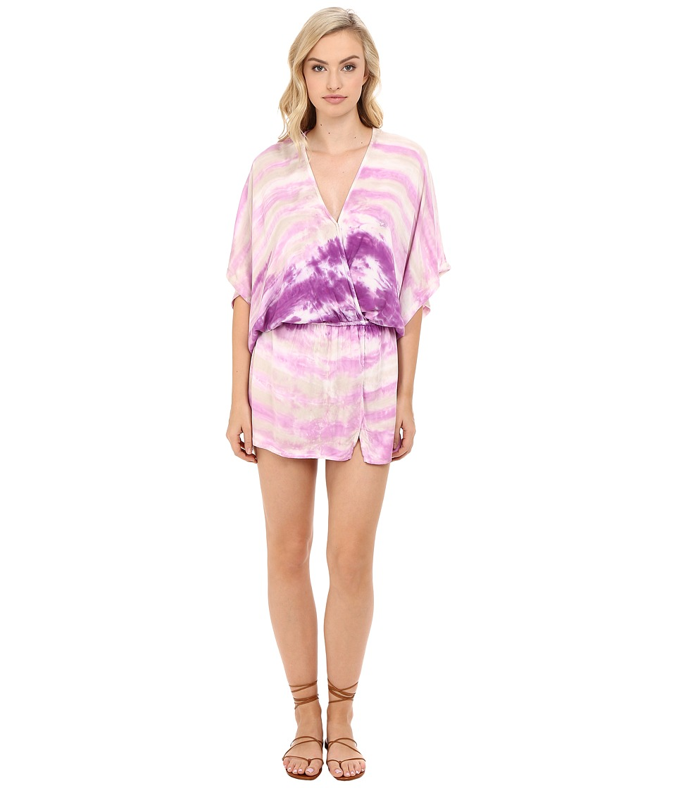 Young Fabulous & Broke Viv Dress (Orchid Water Ripple Wash) Women