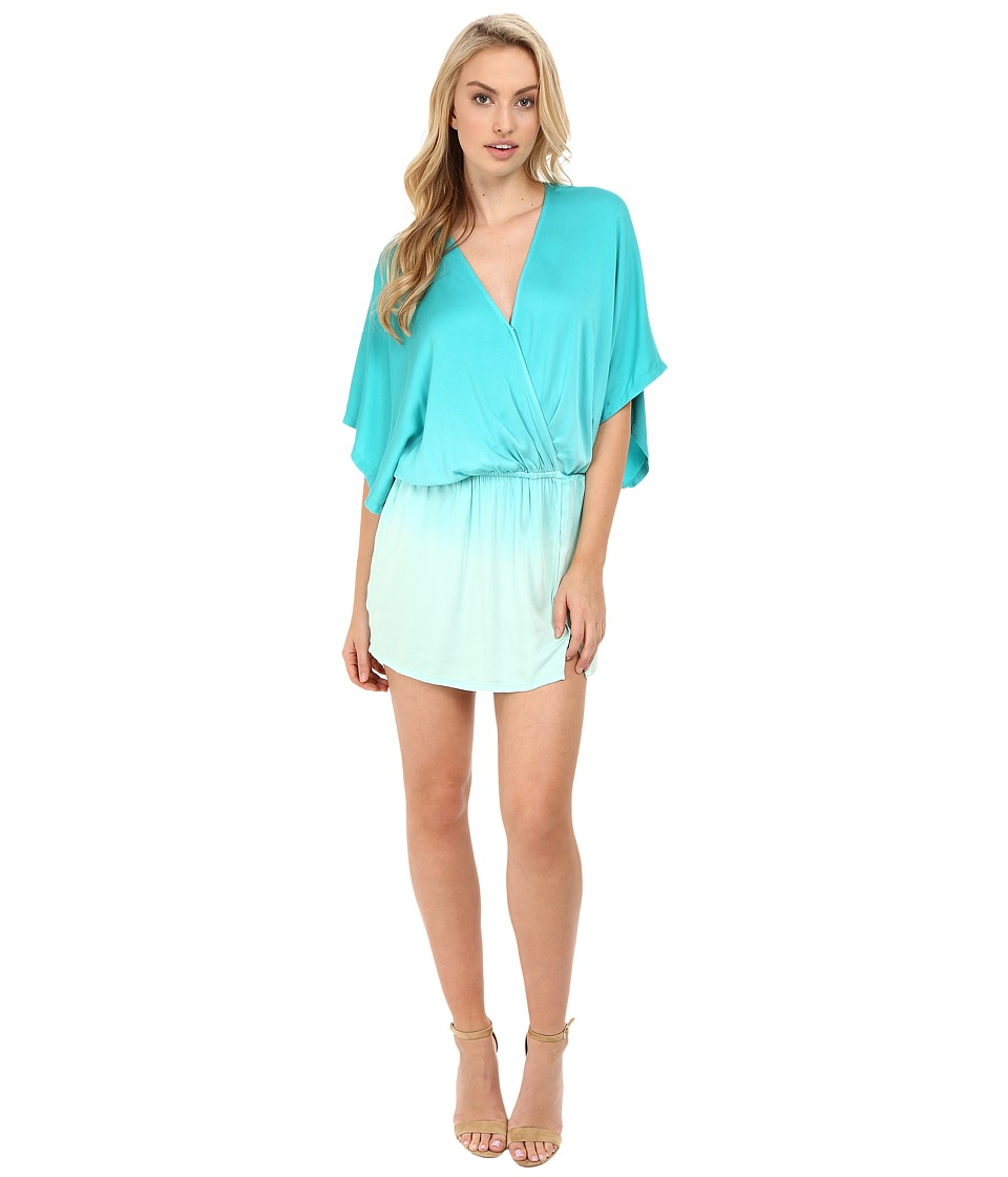 Young Fabulous & Broke - Viv Dress (Turquoise Ombre) Women's Dress