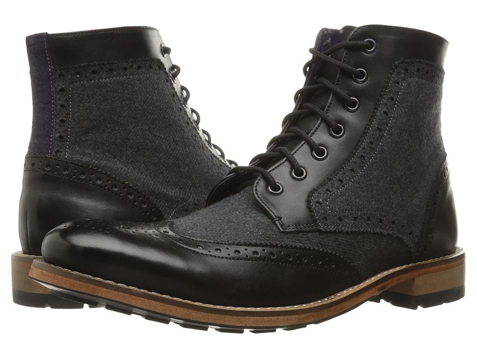 Ted Baker Sealls 3 (Black/Dark Grey Wool) Men