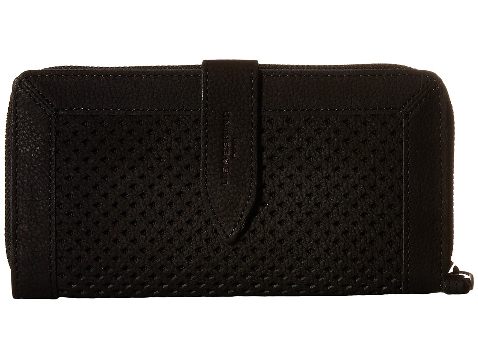 Liebeskind - Senta (Black) Wallet Handbags