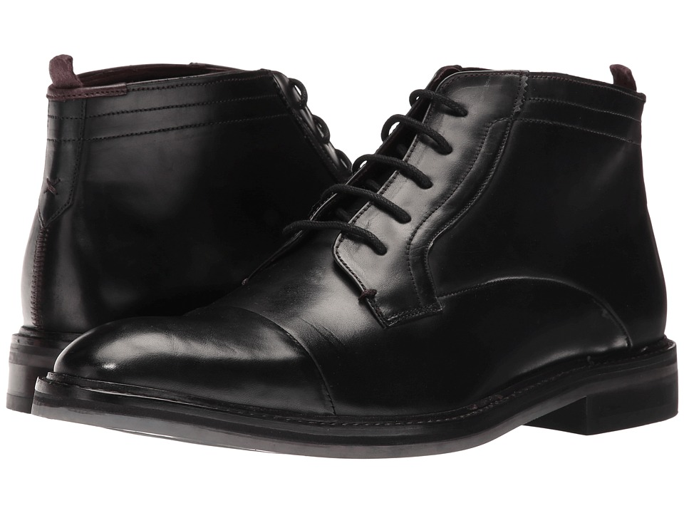 Ted Baker Baise Black Leather Mens Shoes