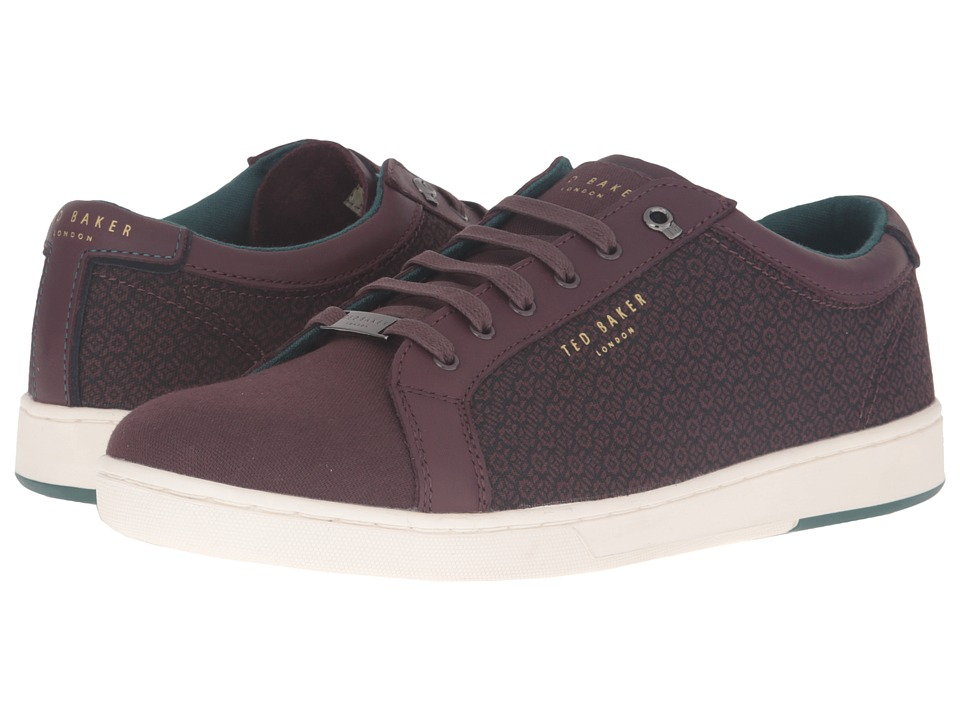 Ted Baker - Keeran 4 (Dark Red Textile) Men's Shoes
