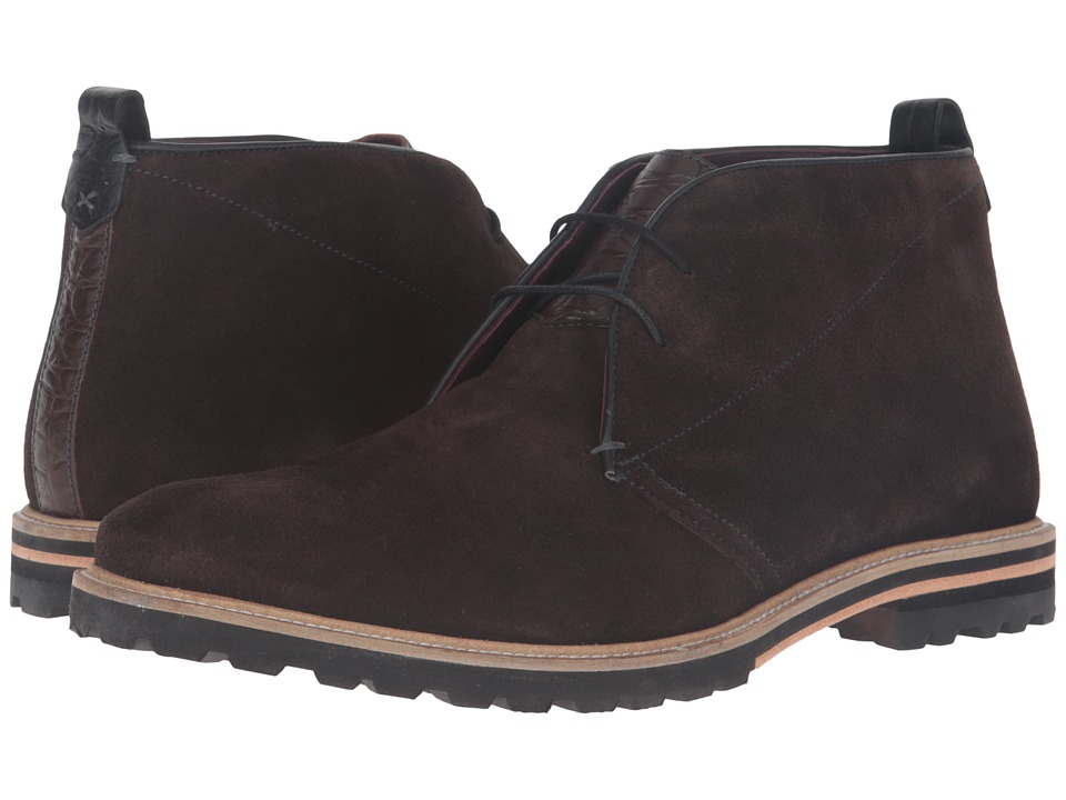 Ted Baker - Maagna (Brown Suede) Men's Shoes