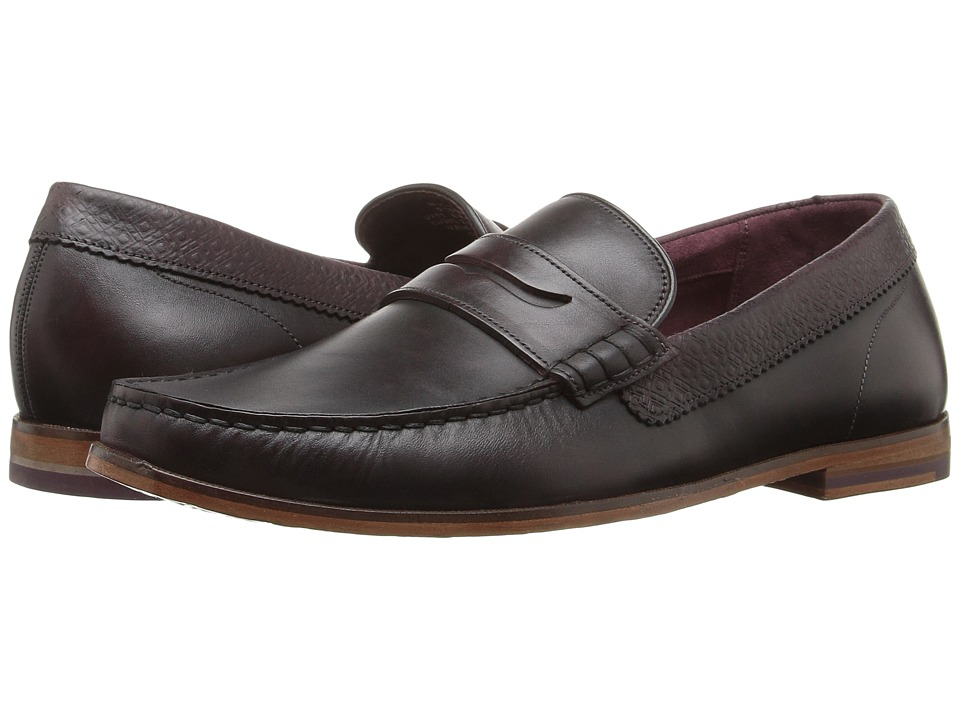 Ted Baker Miicke 2 (Dark Red Leather) Men