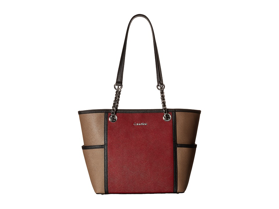 Calvin Klein - Saffiano Tote (Valentine Combo) Handbags