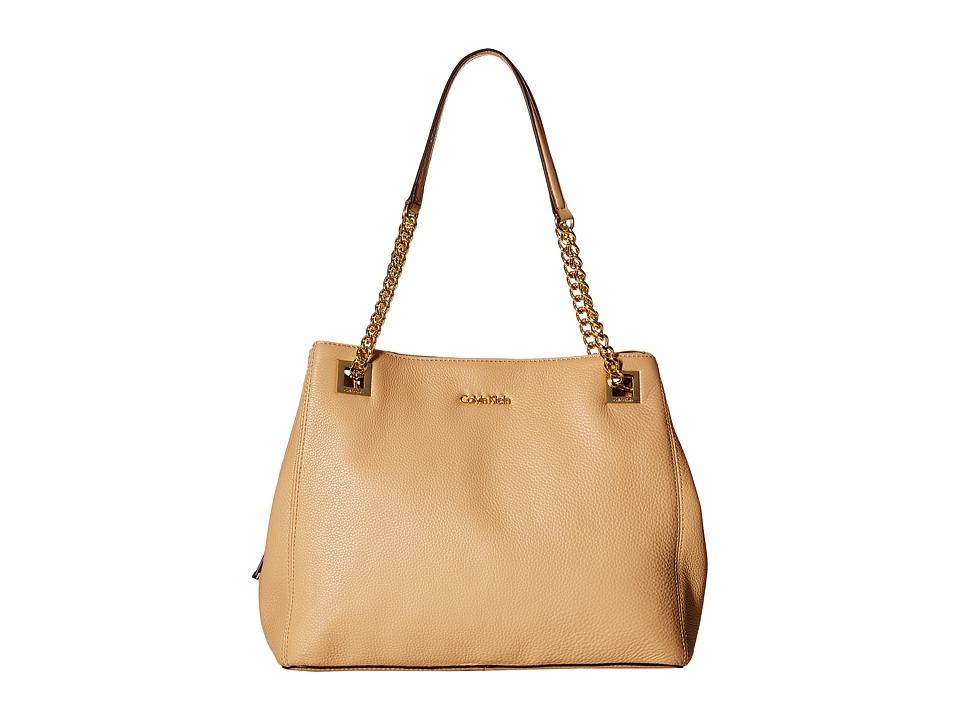 Calvin Klein - Pebble Tote (Nude) Tote Handbags