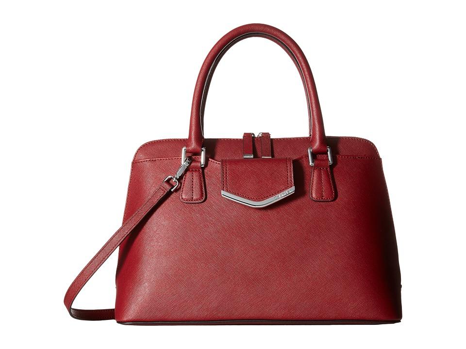 Calvin Klein - Saffiano Satchel (Valentine) Satchel Handbags