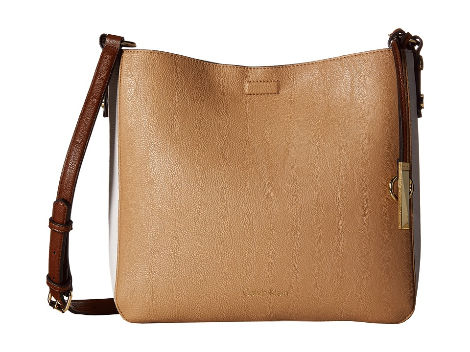 Calvin Klein - Pebble Messenger (Nude Combo) Messenger Bags