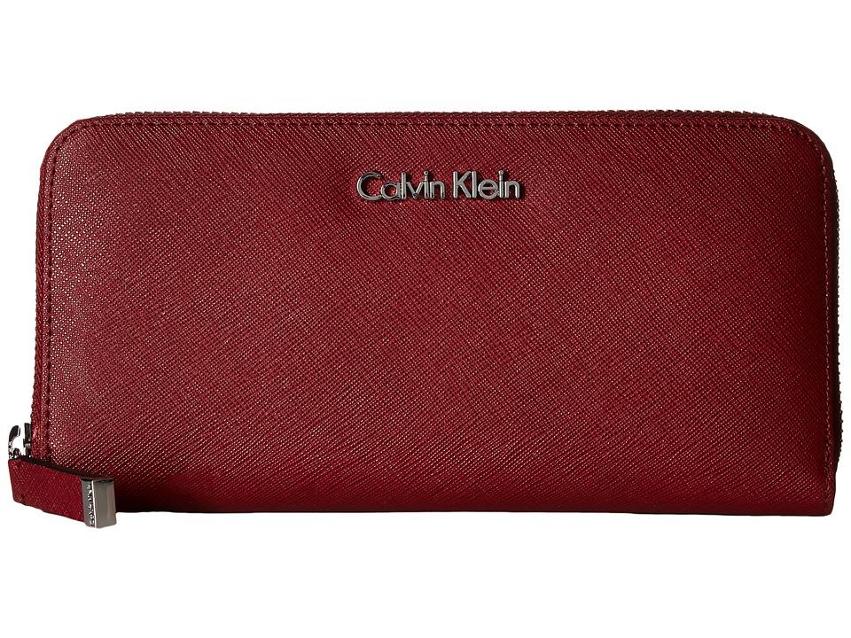 Calvin Klein - Saffiano Wallet (Valentine) Wallet Handbags