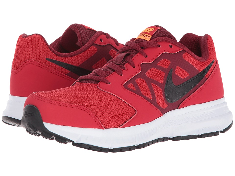 Nike Kids - Downshifter 6 (Little Kid/Big Kid) (University Red/Team Red/Total Orange/Black) Boys Shoes