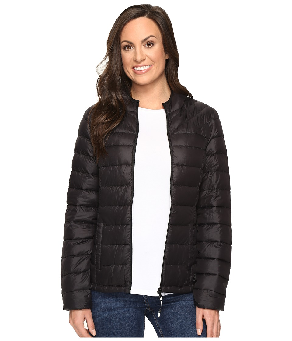 Roper - Crushed Parka (Black) Women's Coat