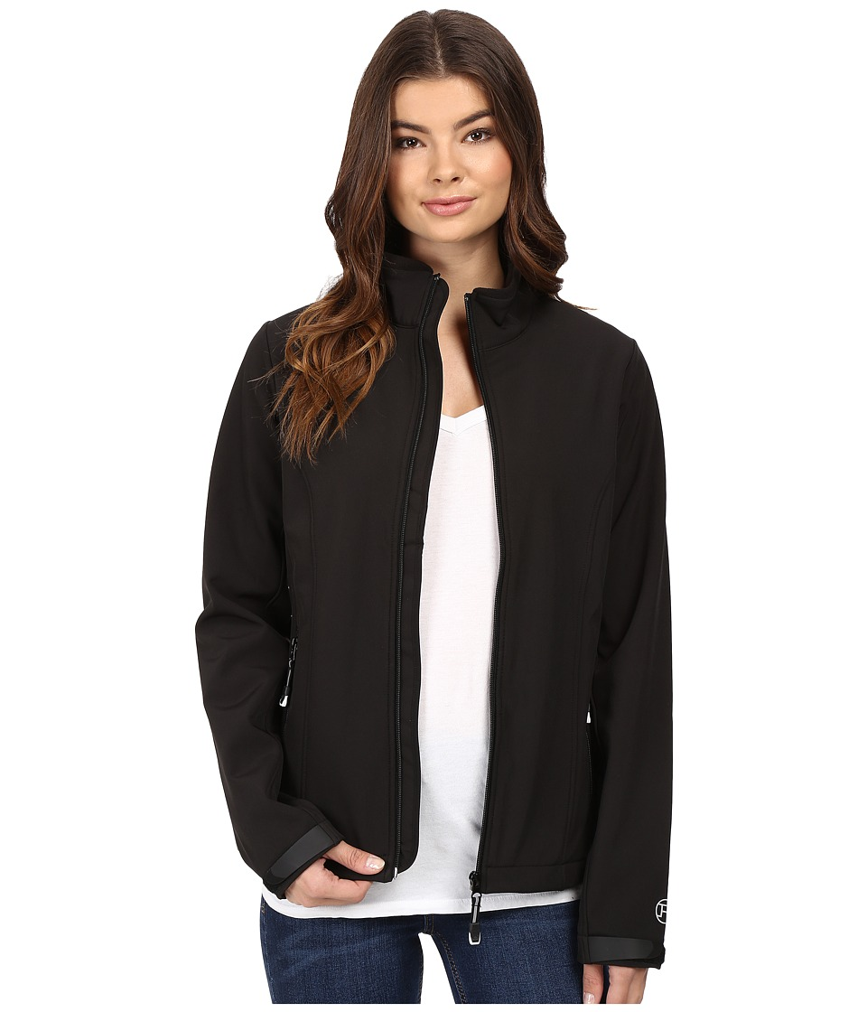 Roper - Softshell Bomber Jacket (Black) Women's Coat