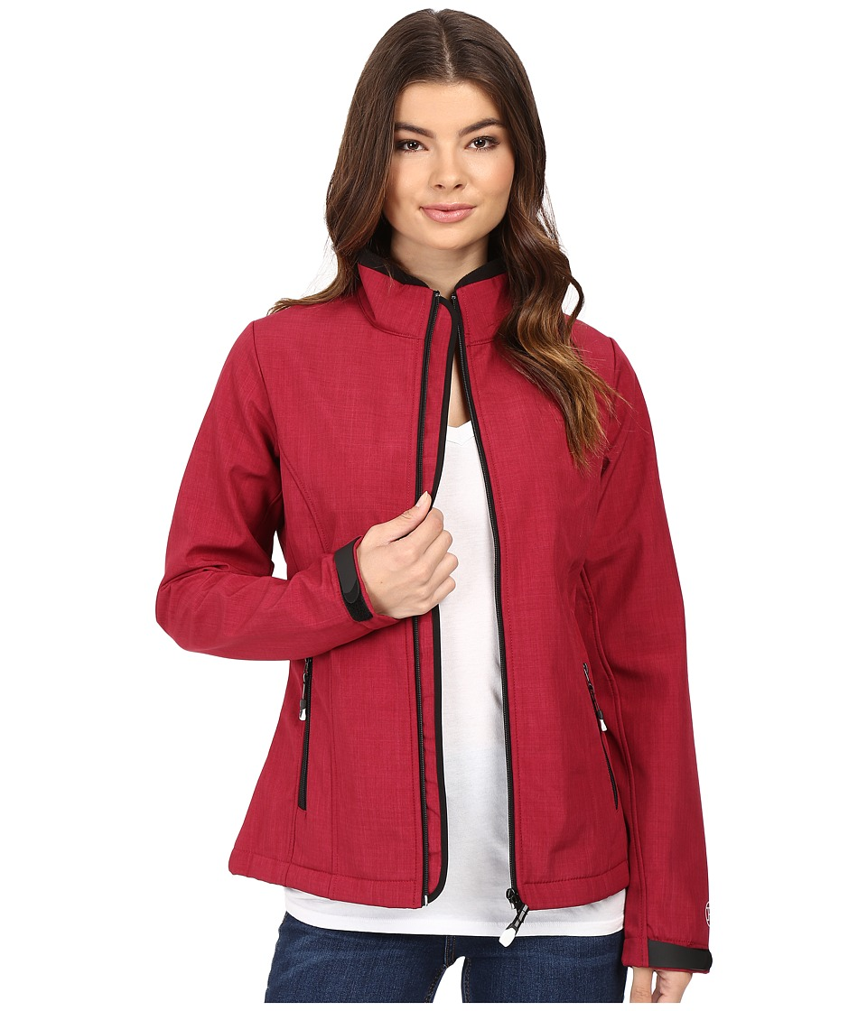 Roper - Softshell Bomber Jacket Print (Pink) Women's Coat