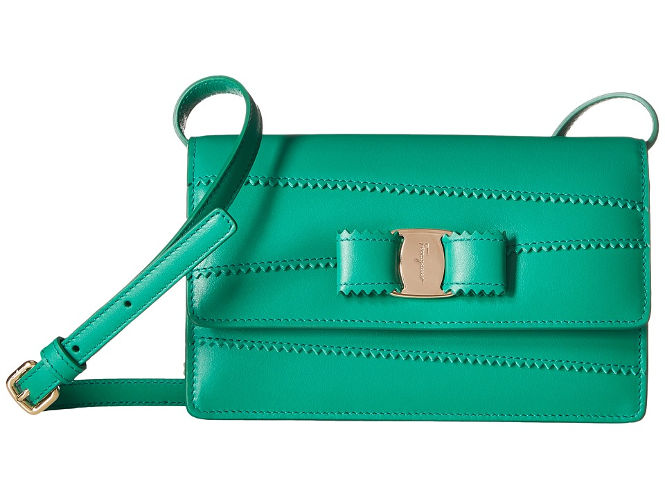 Salvatore Ferragamo - 22C674 (Emeraude/Emeraude) Handbags