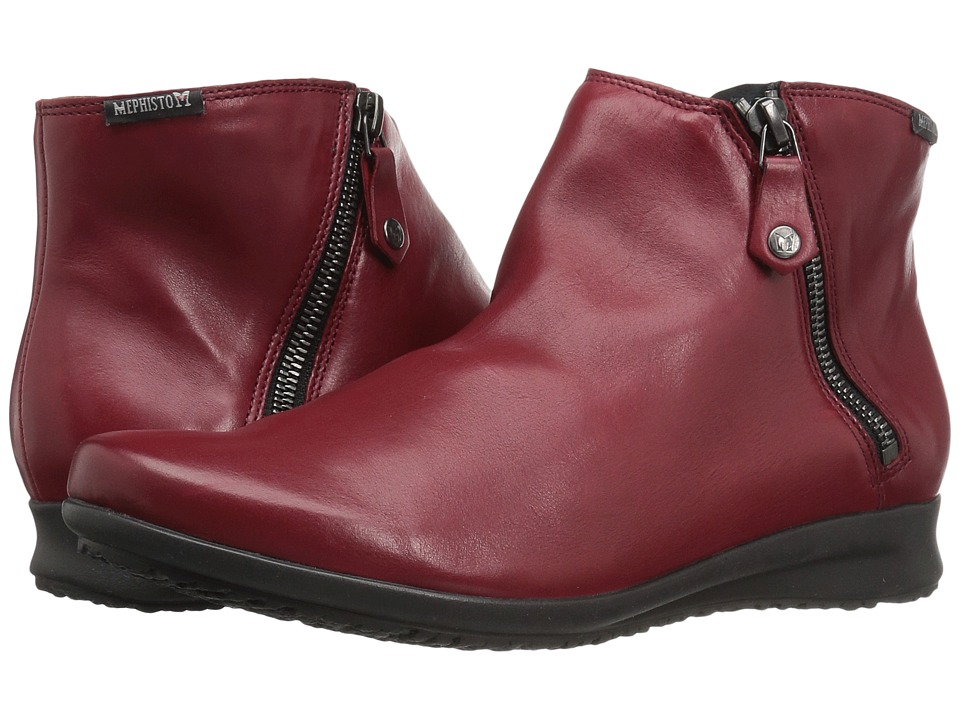Mephisto - Filipina (Oxblood Silk) Women's Boots