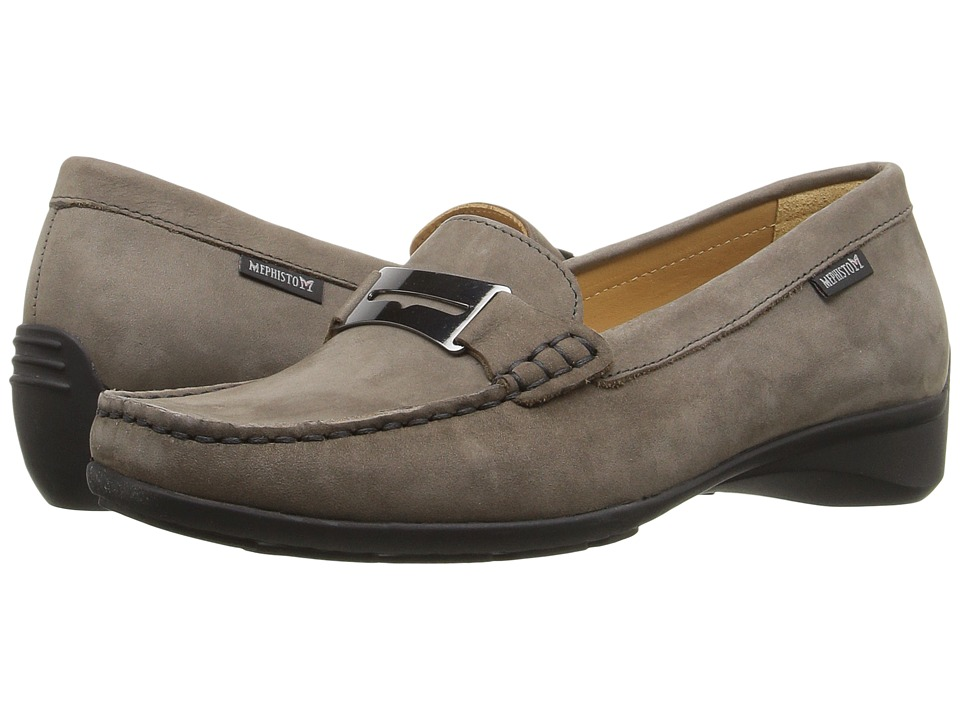 Mephisto - Norma (Pewter Bucksoft) Women's Shoes