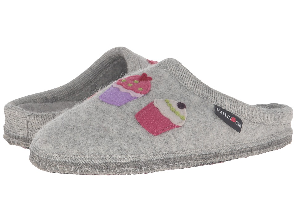 Haflinger - Sweetie (Silver Grey) Women's Slippers