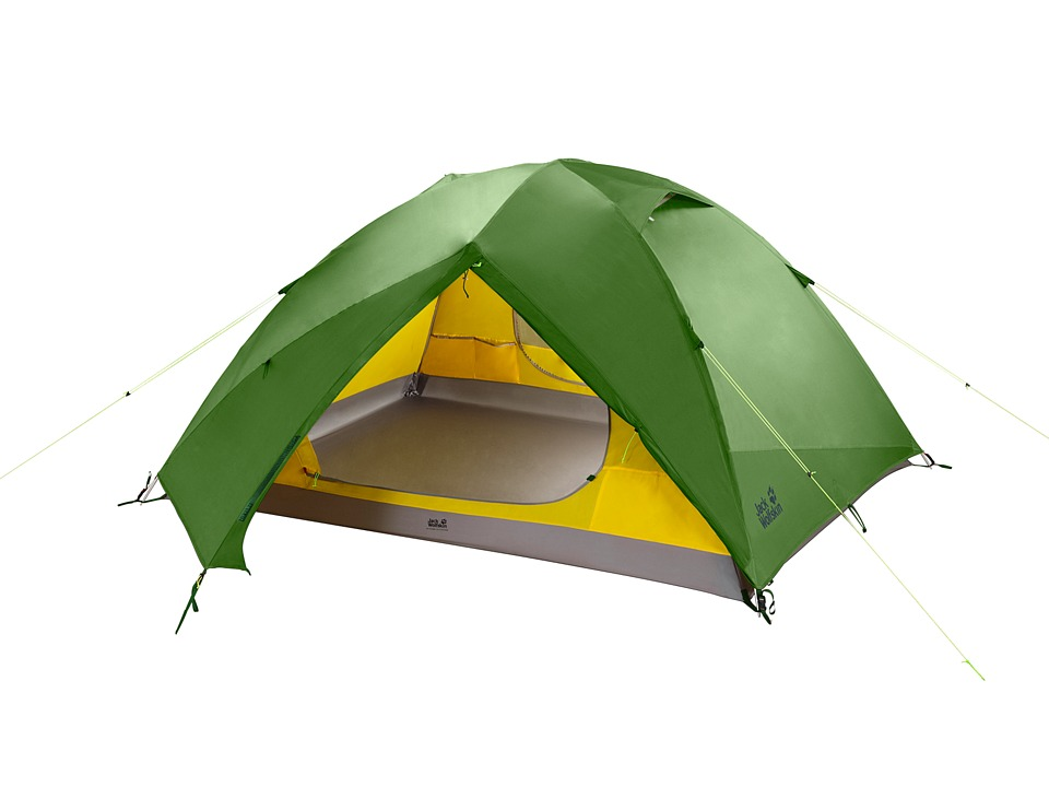 Jack Wolfskin - Skyrocket II Dome Tent (Green Tea) Outdoor Sports Equipment