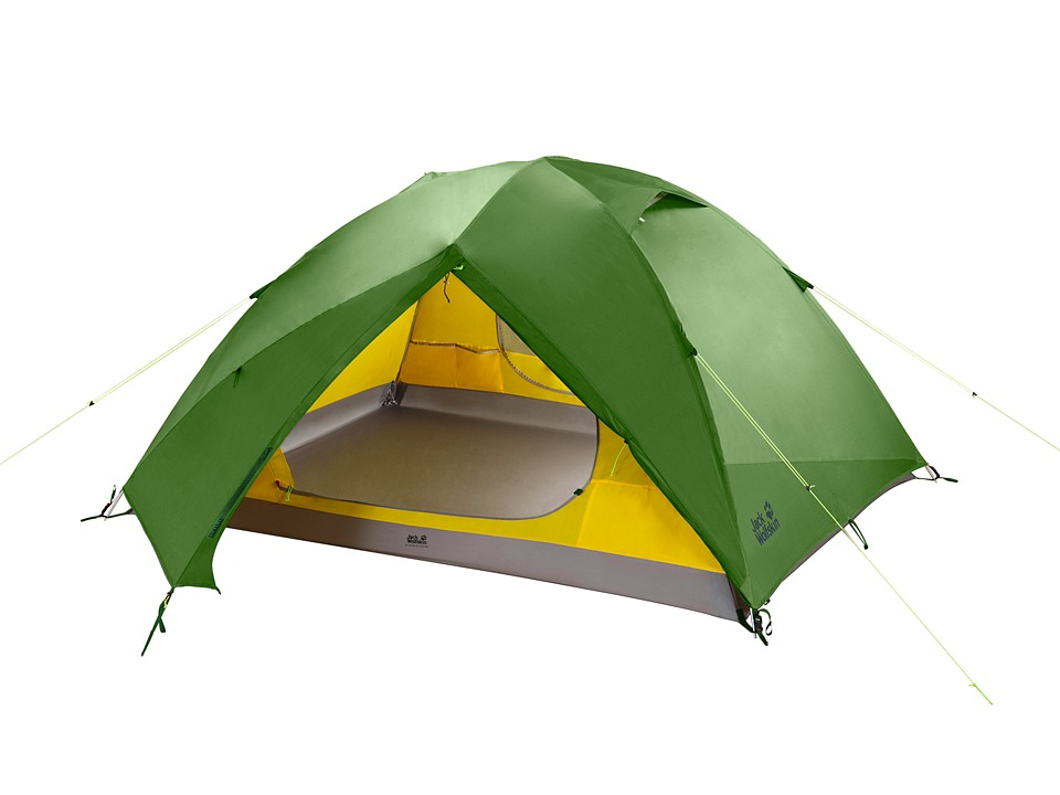 Jack Wolfskin - Skyrocket III Dome Tent (Green Tea) Outdoor Sports Equipment