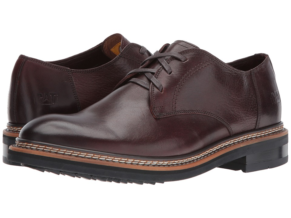 Caterpillar - Hyde (Burgundy) Men's Lace up casual Shoes