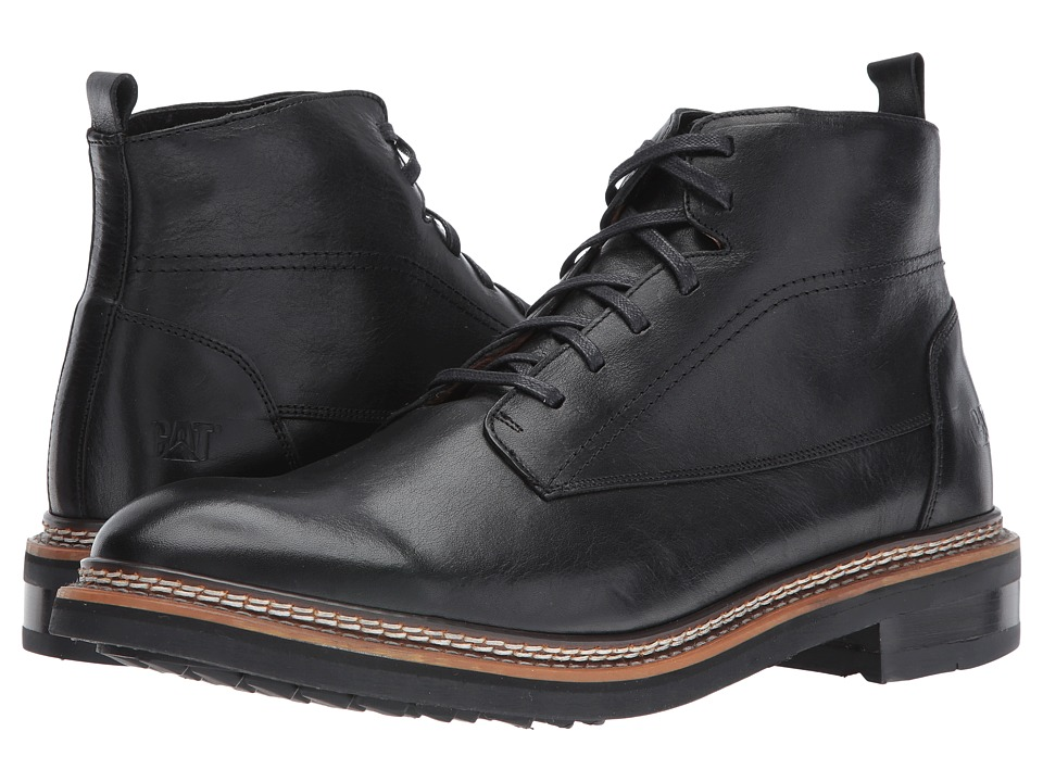 Caterpillar - Sutter (Black) Men's Lace-up Boots