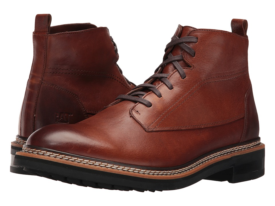 Caterpillar - Sutter (Rust) Men's Lace-up Boots