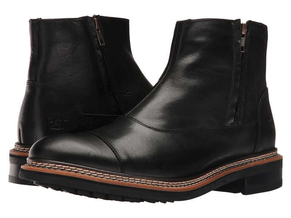 Caterpillar - Adner (Black) Men's Zip Boots