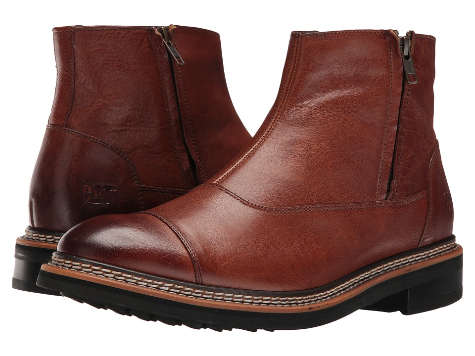 Caterpillar - Adner (Rust) Men's Zip Boots