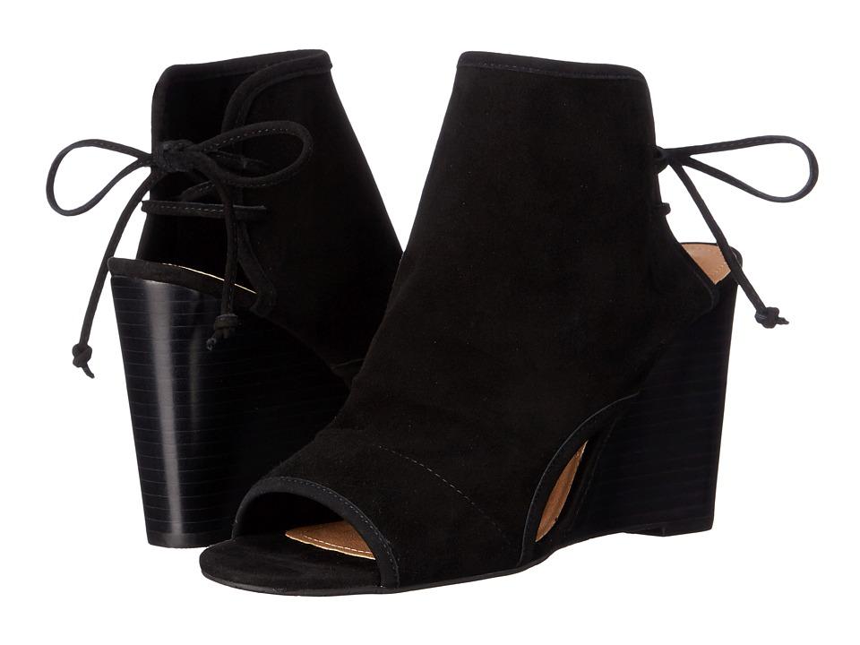 Tahari - Margo (Black Kid Suede) Women's Shoes