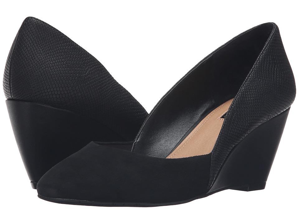 Tahari - Palace (Black Iguana Raised/Kid Suede) Women's Shoes