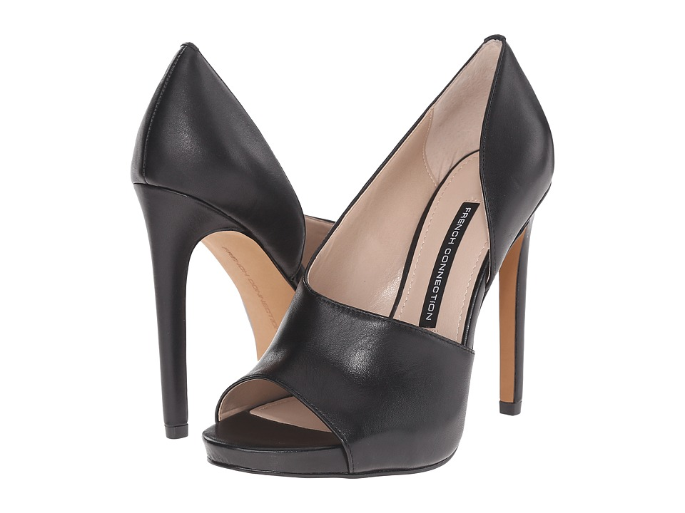 French Connection - Velora (Black) Women's Shoes