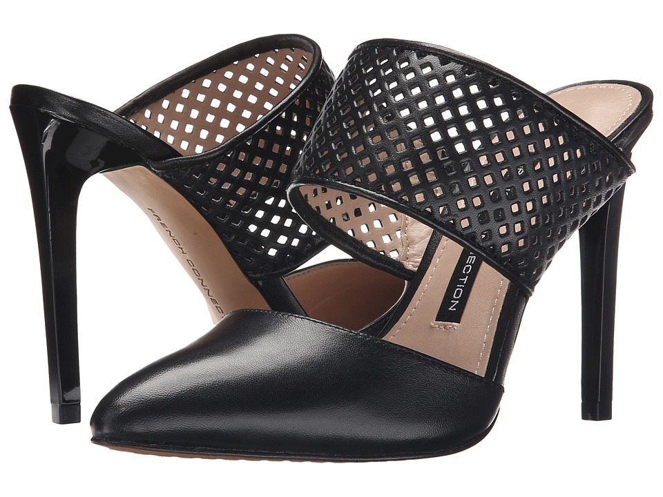 French Connection - Mollie (Black/Black) Women's Shoes