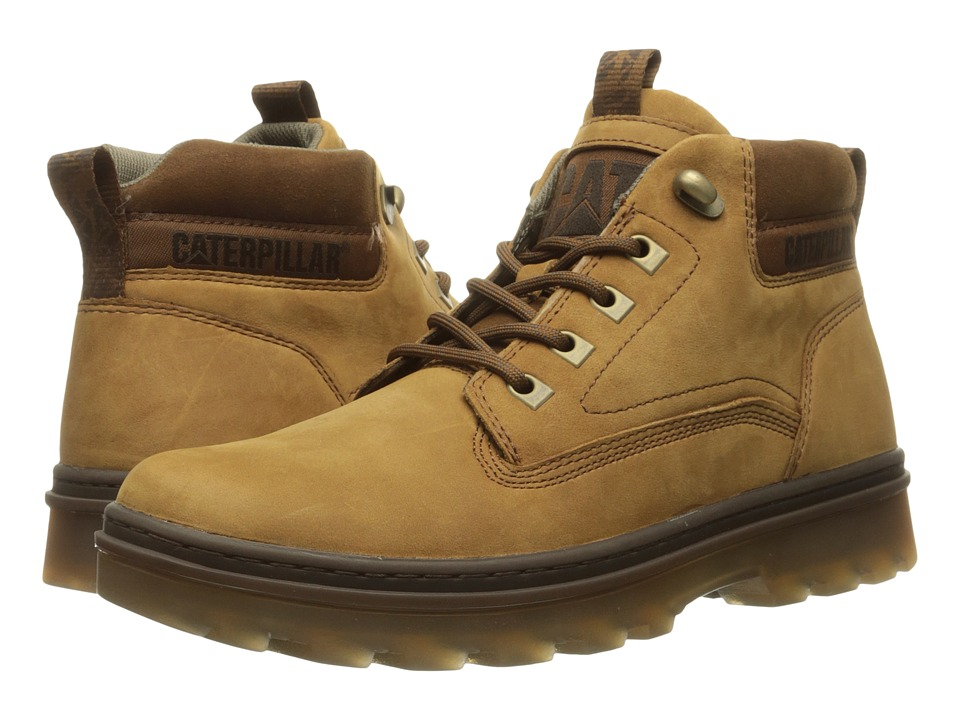 Caterpillar - Knox Mid (Tater) Men's Work Lace-up Boots