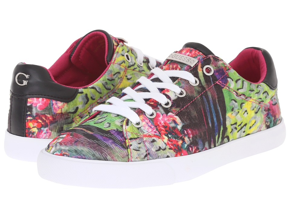 GUESS - Maegan (Pink Multi Fabric) Women's Shoes
