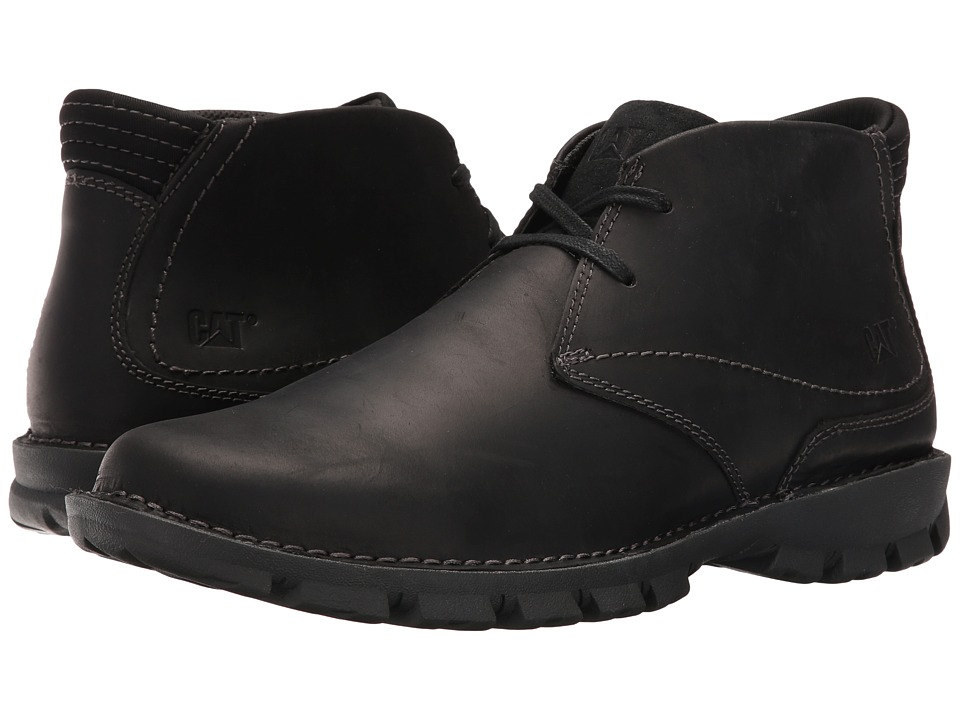 Caterpillar - Mitch (Black) Men's Lace-up Boots