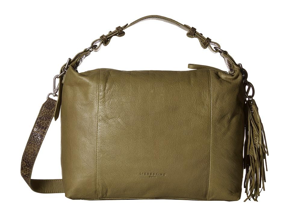 Liebeskind - Anuk (Camouflage Green) Handbags