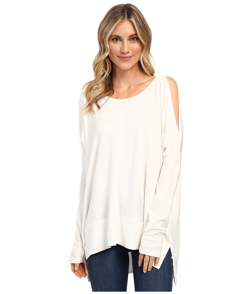 Culture Phit - Andreea Top with Side Slits (Ivory) Women's Clothing