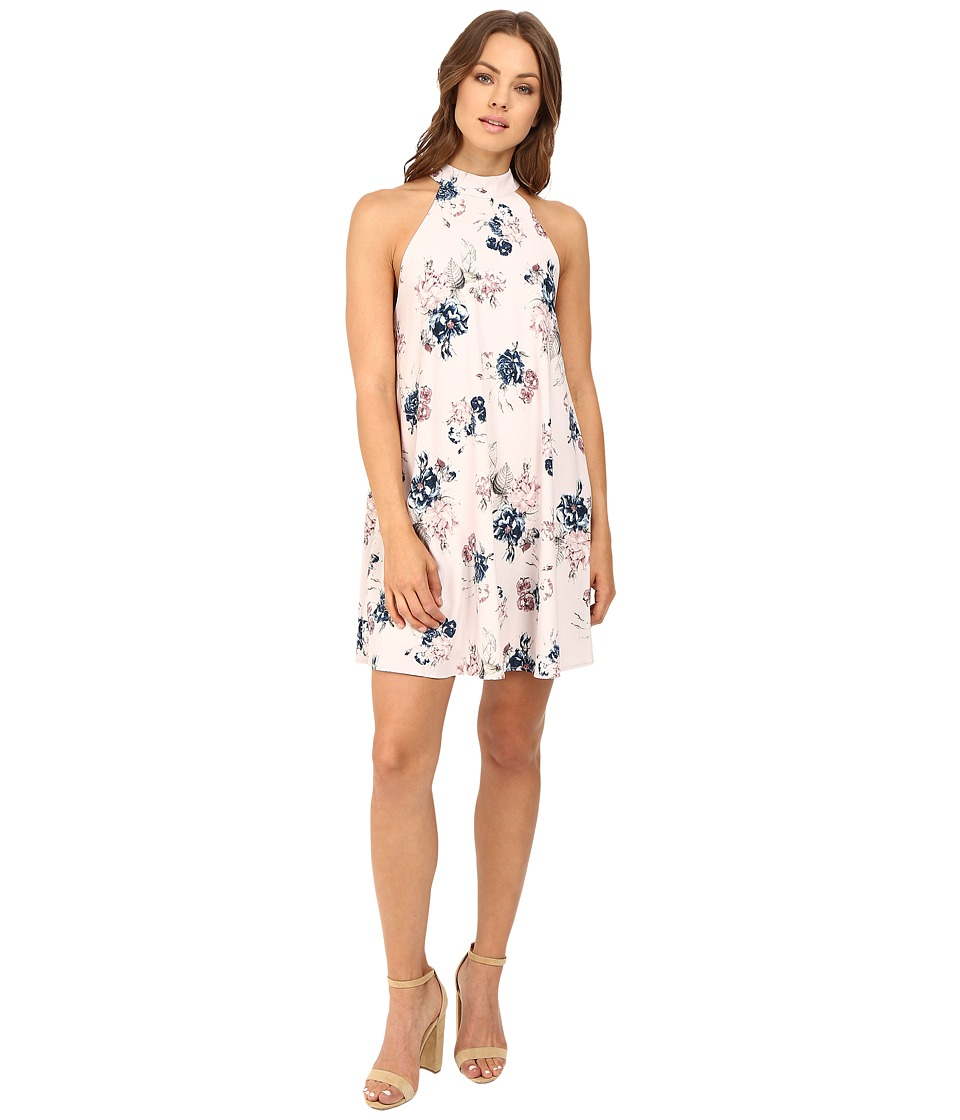 Brigitte Bailey - Gabriele Floral Halter Dress (Lavender) Women's Dress