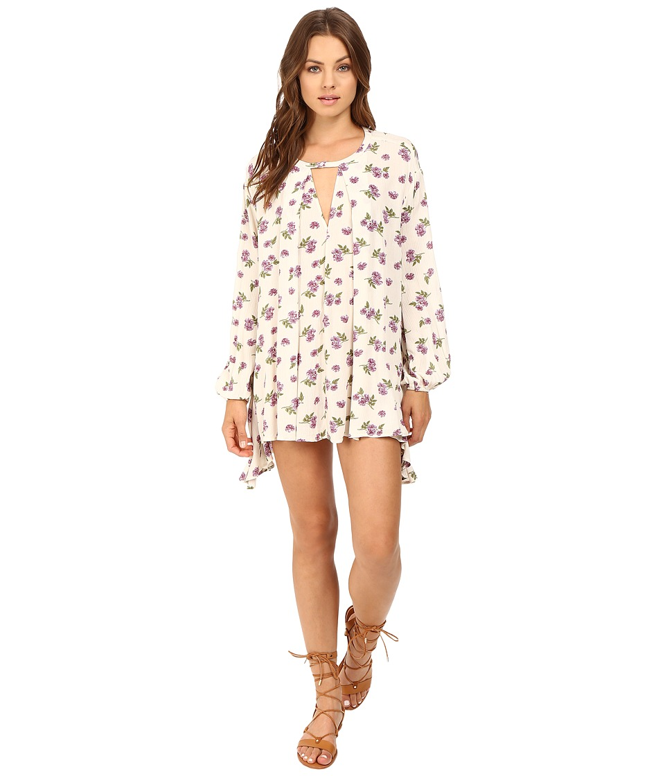 Brigitte Bailey - Martina Floral Boho Dress (Cream) Women's Dress
