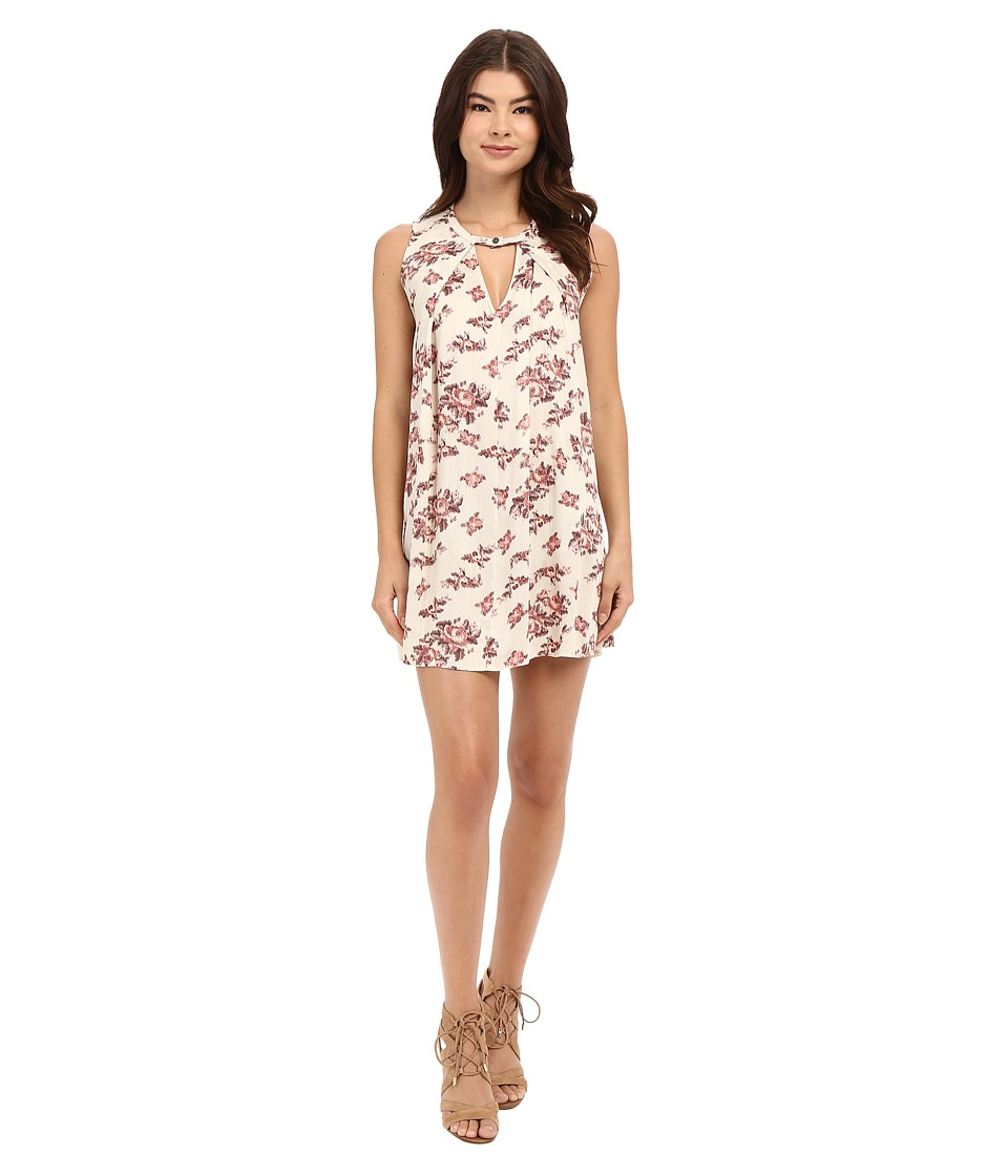 Brigitte Bailey - Violeta Floral Boho Dress (Pink) Women's Dress