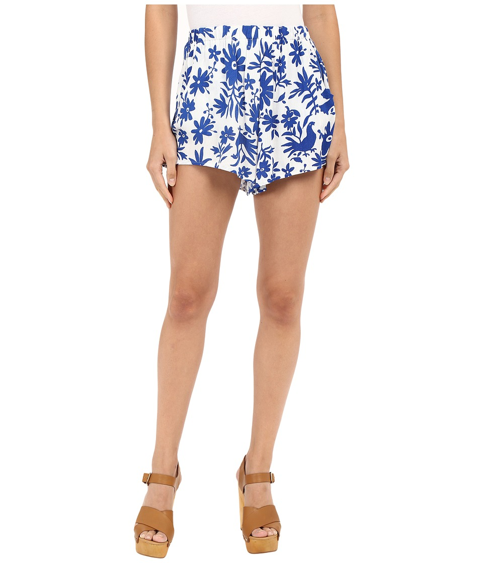 Show Me Your Mumu - Cabana Shorts (Senorita Bluebird) Women's Shorts