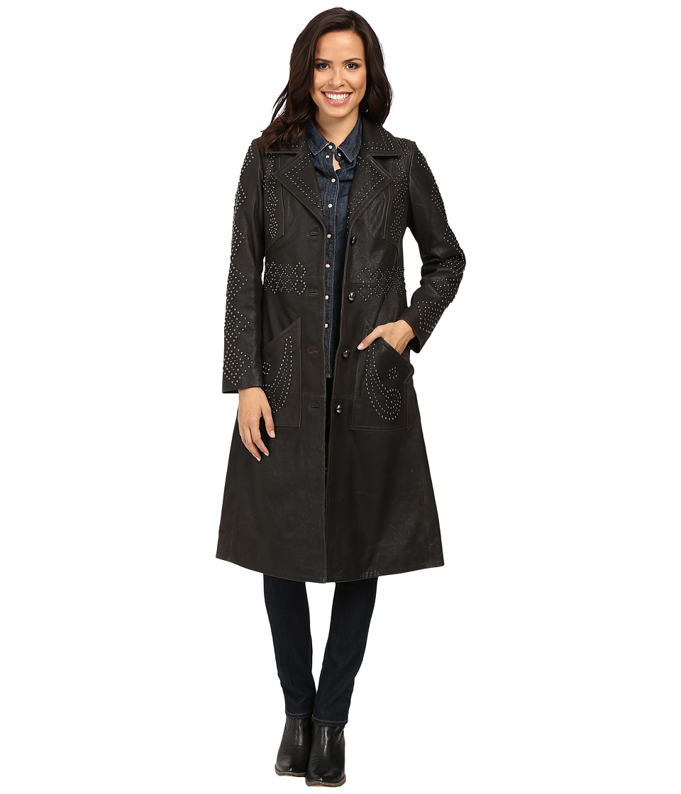 Tasha Polizzi - Morrison Coat (Black) Women's Coat