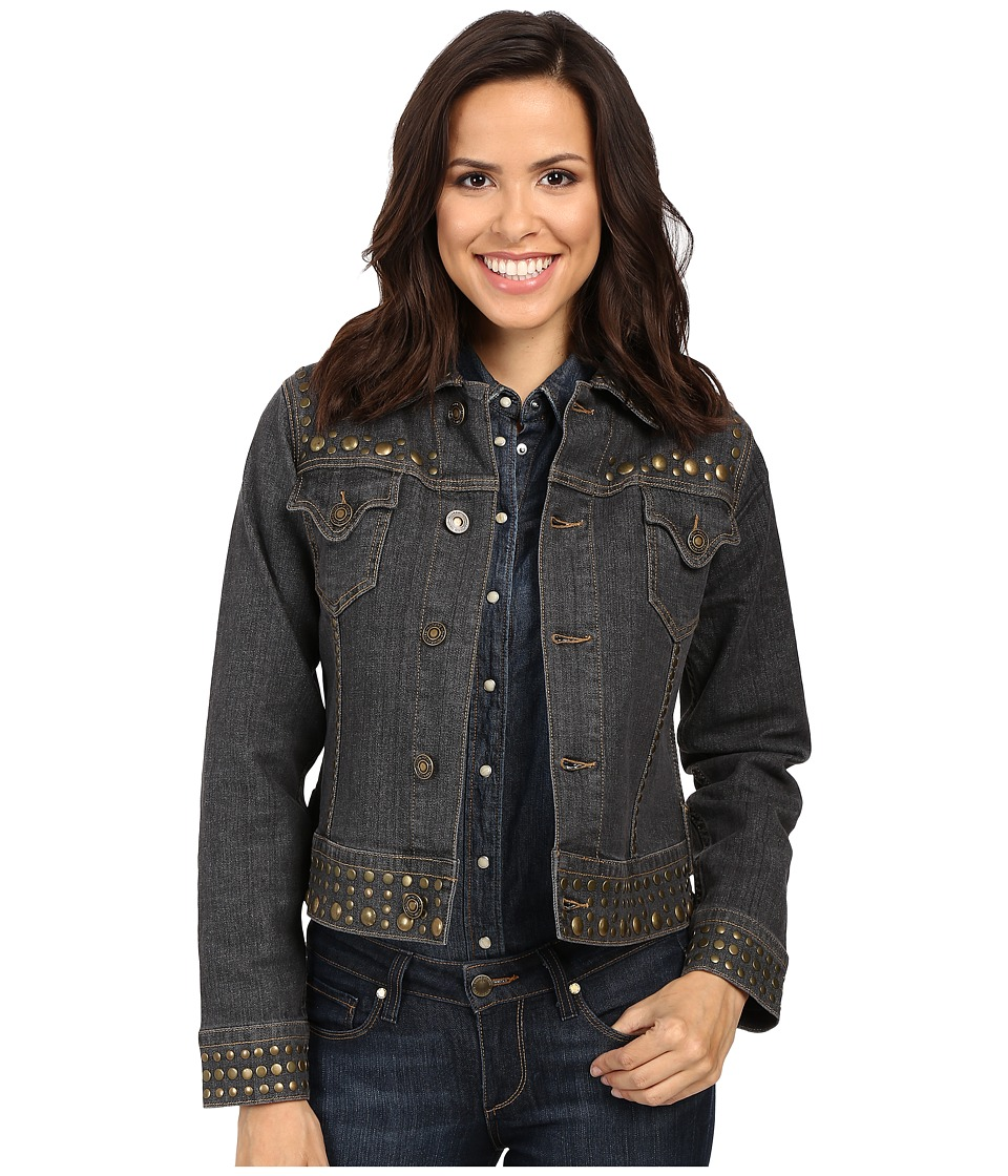 Tasha Polizzi - Gypset Jacket (Washed Denim) Women's Coat