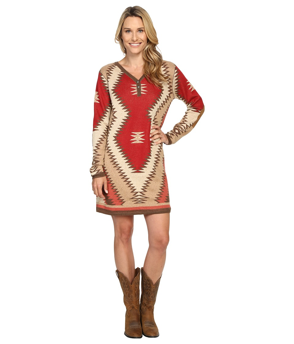 Tasha Polizzi - Shavano Blanket Dress (Red Clay) Women's Dress