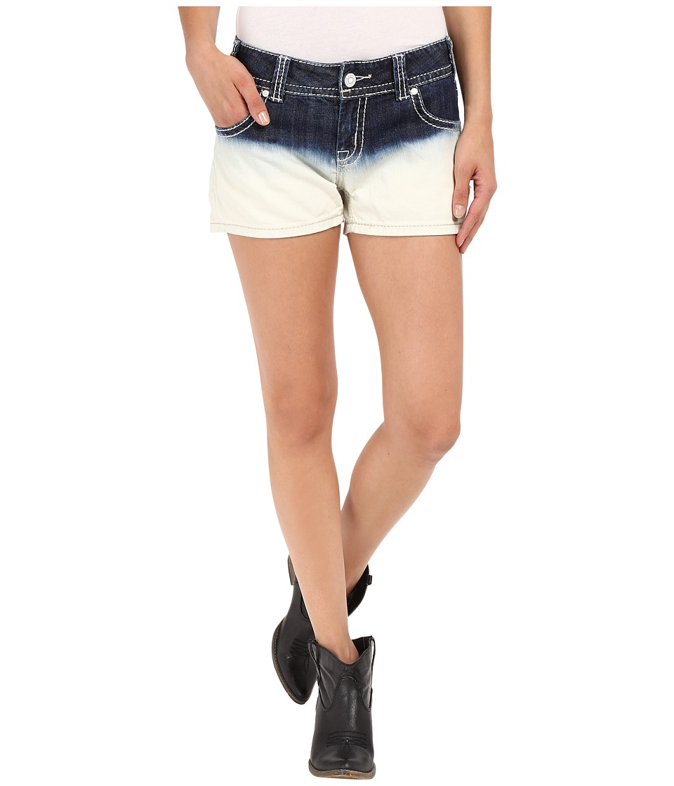 Rock and Roll Cowgirl - Low Rise Shorts 68-7376 (Discharge) Women's Shorts